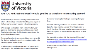Uvic Teacher Program