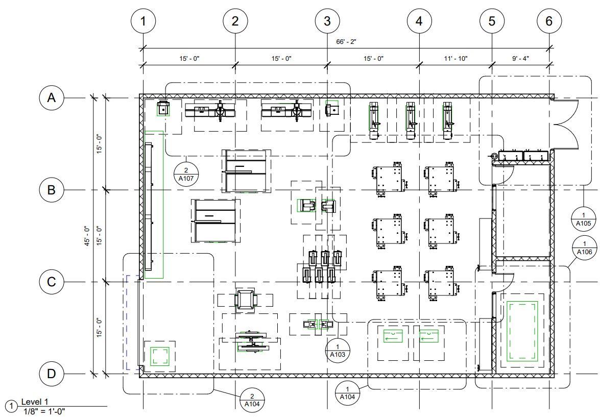 Bctea Shop Floor Plans Safety Zones